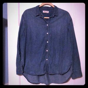 Madewell denim buttondown shirt